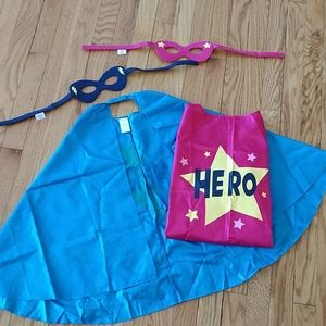 Lot of 4 piece pink and blue hero outfits